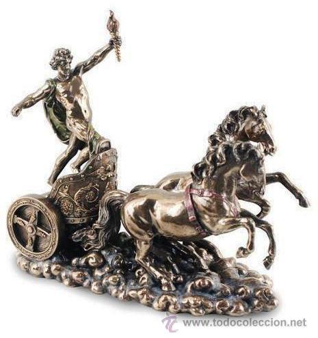 Escultura decorativa del dios apolo en su carro comprar art culos nuevos en todocoleccion - Escultura decorativa ...