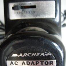 Nuevo: ADAPTADOR, TRANSFORMADOR, AC/DC AC ADAPTOR DE ARCHER, 220 / 240V – 3 / 4,5 / 6 / 7,5 / 9 / 12V 300MA. Lote 30300967