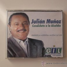 Nuevo: CD ORIGINAL JULIAN MUÑOZ CANDIDATO ALCALDIA MARBELLA. JESUS GIL Y GIL. NUEVO. HISTORICO. Lote 33696130