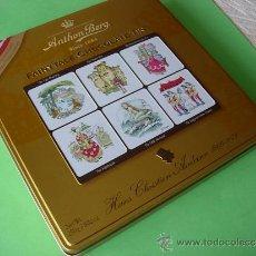 Nuevo: CAJA METALICA DE GALLETAS DANESAS , ANTHON BERG FAIRYTALE CHOCOLATE TIN , DINAMARCA. Lote 195313008