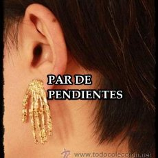 Nuevo: PENDIENTE DE GARRAS. GOTICO, PUNK, HEAVI, PARA TODOS LOS ESTILOS - RESTOS DE TIENDA . Lote 34595811