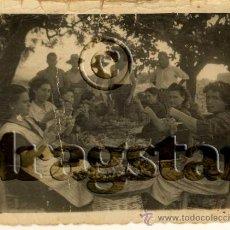 Nuevo: FOTOGRAFIA ORIGINAL VENDIMIADORAS DE BENICASSIM CASTELLON AÑOS 50. Lote 194329993