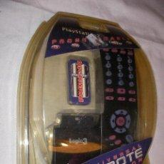 Nuevo: ANTIGUO BLISTER NUEVO UNIVERSAL DVD REMOTE MULTIFUNCION TV. DVD, CANA SATELITE, PLAYSTATION Y OTROS. Lote 36001433