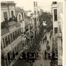 Nuovo: FOTOGRAFIA ORIGINAL DE LA CABALGATA DEL PREGO FIESTAS DE LA MAGDALENA 1965 CALLE ENMEDIO CASTELLON . Lote 35990317
