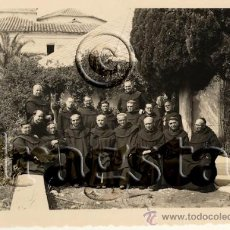 Nuevo: FOTOGRAFIA ORIGINAL GRUPO DE FRAILES CARMELOS EN EL DESIERTO DE LAS PALMAS BENICASSIM CASTELLON. Lote 35991291