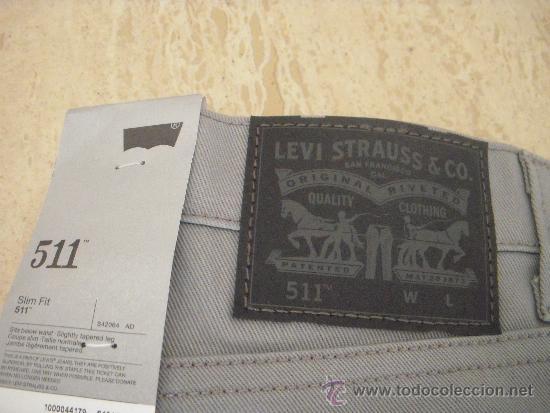 Etiqueta Strauss Puesta Levis Pantalones Con La Y Originales b7vfyIgY6
