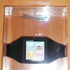 Nuevo: PULSERA BRAZALETE NEGRO PARA IPOD NANO 6. Lote 36892223