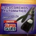 Nuevo: Sacacorchos Automático SUPERGLUE LOCTITE Regalo Promocional. Lote 40667889