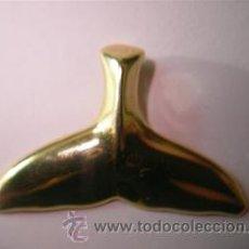 Nuevo: COLGANTE COLA DE BALLENA EN PLATA MACIZA - 32X22MM.. Lote 41542855