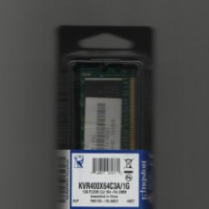 Nuevo: MODULO DE MEMORIA RAM KINGSTON 1GB - PC3200 - CL3 184-PIN DIMM.. Lote 43054043