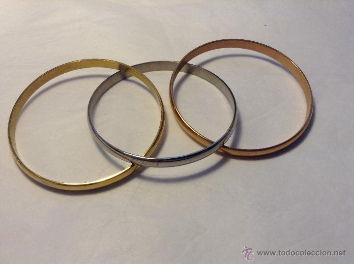 66f584a551e2 clásica pulsera tres oros - Comprar Artículos nuevos en ...