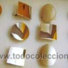 Nuevo: LOTE 12 ANILLOS ADAPTABLES EN ACERO CON BAÑO DE PLATA.. Lote 43430353
