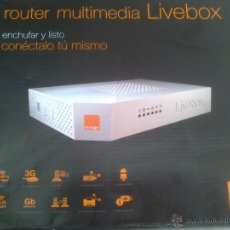 Nuevo - ROUTER LIVEBOX MULTIMEDIA - 44529327