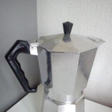 Nuevo: CAFETERA DE ACER CAFÉ HECHA DE ALUMINIO ESPECIAL SELADA JUNIOR ,MAD ITALY.. Lote 44987671