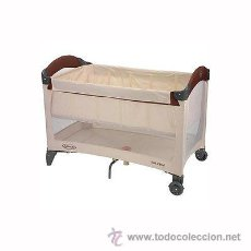 Nuevo: CUNA PLEGABLE GRACO ROLL A BED GABI. Lote 45113688