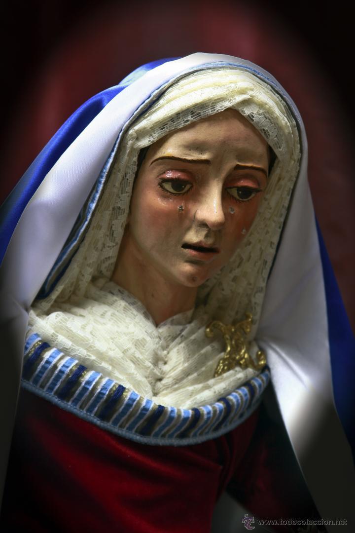 Nuevo: Virgen dolorosa de 90 ctm vestida de hebrea. - Foto 3 - 43996311