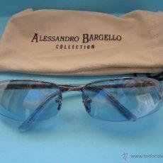 Nuevo: GAFAS SOL ALESSANDRO BARGELLO. UV 400 PROTECTION. CON FUNDA. NUEVAS BV-R. Lote 45912353