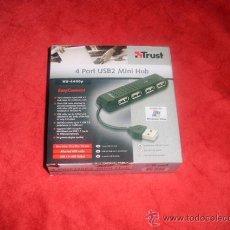 Nuevo: HUB USB 2.0 - 4 PUERTOS. Lote 46008822