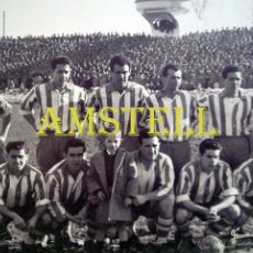 Neuf: FOTOGRAFIA 10X15 DEPORTIVO ALAVES - ALINEACION 1955/56 - FOTO 019. Lote 46414316
