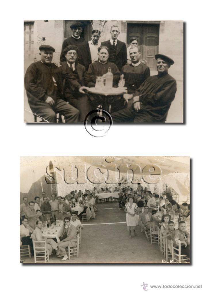 Nuevo: 50 FOTOGRAFIAS ANTIGUAS DE TORREBLANCA CASTELLON - Foto 21 - 46441356