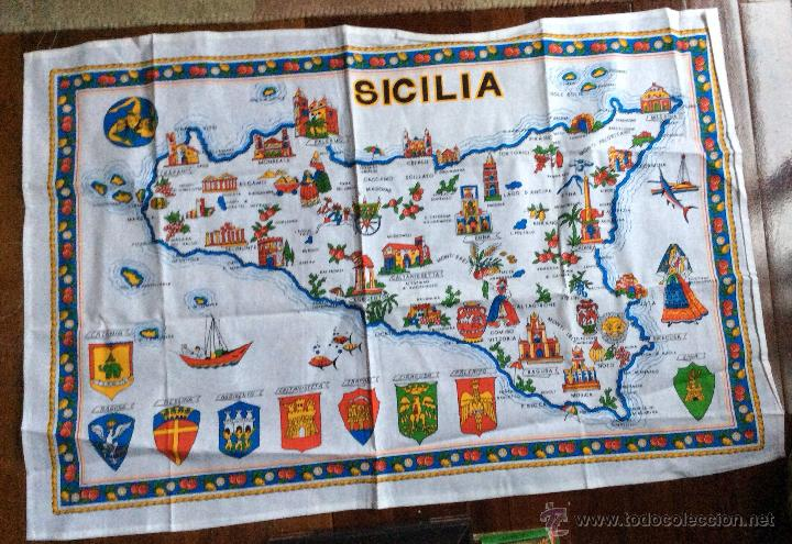 Nuevo: TAPETES SOUVENIR ITALIANOS VINTAGE DE GRAN TAMAÑO - Foto 2 - 47642999