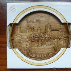Nuevo: TORRE LONDRES PLATO MADERA TOWER OF LONDON GERMAN WOODEN IDEAL REGALO NAVIDAD. Lote 48353757