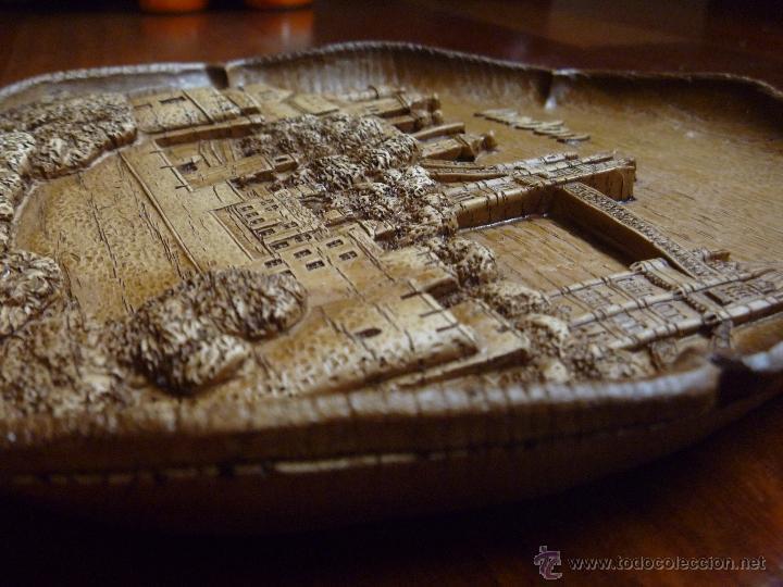 Nuevo: Torre Londres plato madera Tower of London german wooden Ideal regalo Navidad - Foto 3 - 48353757
