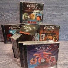 Nuevo: ENCICLOPEDIA PLANETA MULTIMEDIA - 2003. 8 CD-ROM PRECINTADOS A ESTRENAR- OCASIÓN !!. Lote 140747596
