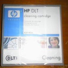 Nuevo: CLEANING HP DLT LIMPIADOR CARTUCHO LIMPIADOR PARA SISTEMA DLT. Lote 49132976