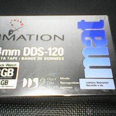 Nuevo: DATA TAPE 4MM DDS - 120 8GB CINTA DE DATOS, DDS 120 4-8GB. Lote 49132981