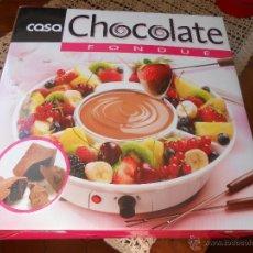 Nuevo: JUEGO FONDUE DE CHOCOLATE -ELÉCTRICA -. Lote 49404578