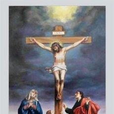 Nuevo: PRECIOSO AZULEJO 40X25 DEL CALVARIO DE CRISTO.. Lote 49950390