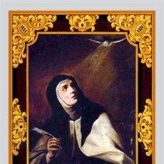 Nuevo: PRECIOSO AZULEJO 40X25 DE SANTA TERESA DE JESÚS. Lote 51119606