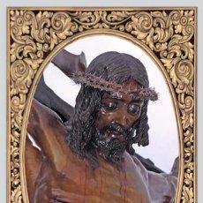 Nuevo: AZULEJO 40X25 DEL CRISTO DE MENA DE MALAGA (CRISTO DE LOS LEGIONARIOS). Lote 51501651