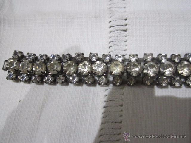 01684d586258 Preciosa pulsera de cristales de strass. 17 cms - Vendido en Venta ...