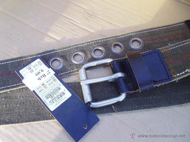 Nuevo: precioso cinturon tdk 100 x 100 algodon mira las fotos lote 1 - Foto 3 - 53049525