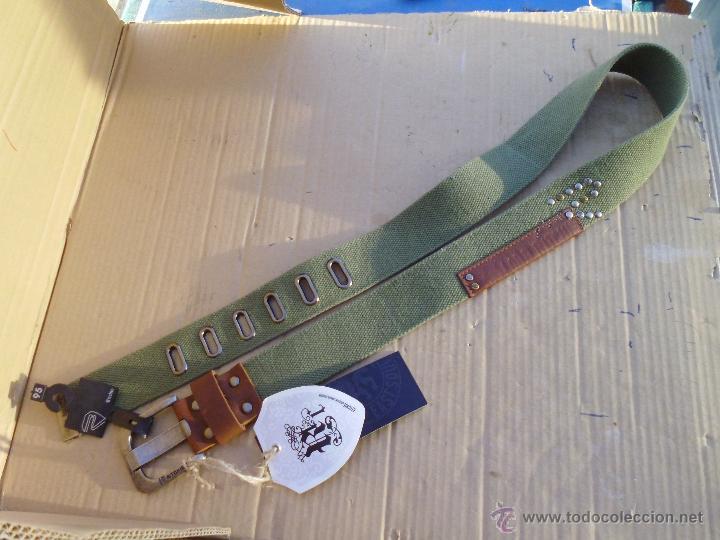 Nuevo: precioso cinturon khaki 100 x 100 algodon mira las fotos lote 2 - Foto 3 - 53049637