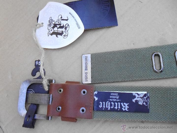 Nuevo: precioso cinturon khaki 100 x 100 algodon mira las fotos lote 2 - Foto 5 - 53049637