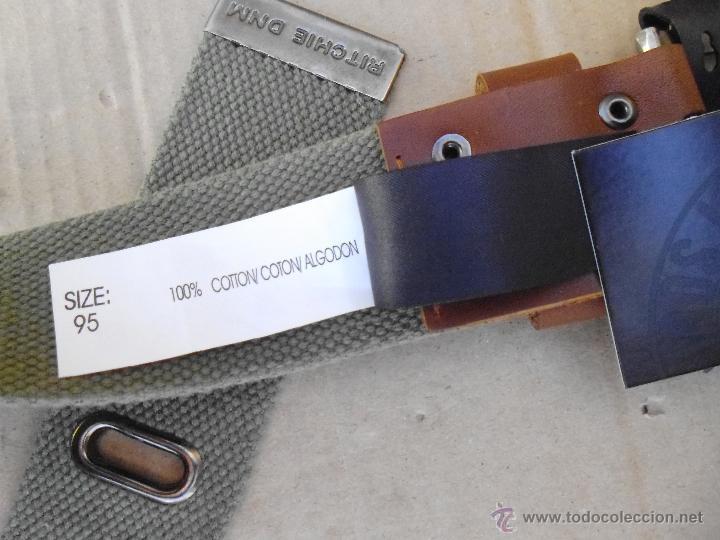 Nuevo: precioso cinturon khaki 100 x 100 algodon mira las fotos lote 2 - Foto 6 - 53049637