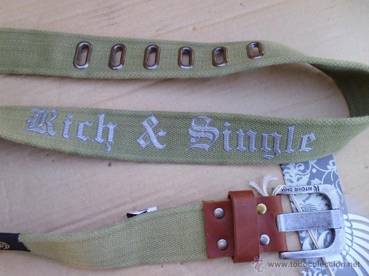 Nuevo: precioso cinturon ritchie 100 x 100 algodon mira las fotos lote 3 - Foto 2 - 172187239