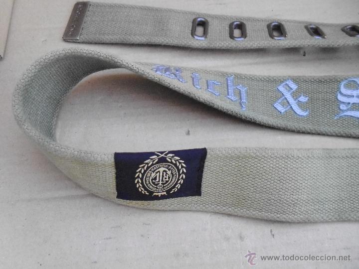 Nuevo: precioso cinturon ritchie 100 x 100 algodon mira las fotos lote 3 - Foto 3 - 172187239