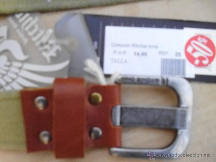 Nuevo: precioso cinturon ritchie 100 x 100 algodon mira las fotos lote 3 - Foto 5 - 172187239