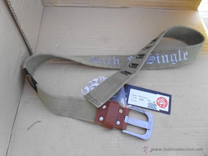 Nuevo: precioso cinturon ritchie 100 x 100 algodon mira las fotos lote 3 - Foto 6 - 172187239