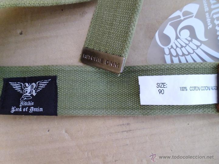 Nuevo: precioso cinturon ritchie 100 x 100 algodon mira las fotos lote 3 - Foto 7 - 172187239