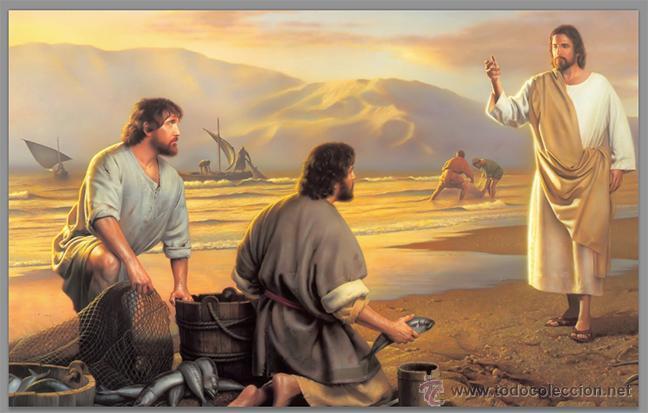 AZULEJO 20X30 DE JESÚS PESCADOR DE HOMBRES. (Artículos Nuevos)