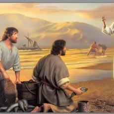 Nuevo: AZULEJO 20X30 DE JESÚS PESCADOR DE HOMBRES.. Lote 53163195