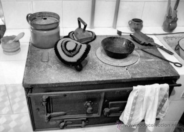 Fotografia antigua de asturias tipica cocina d comprar - Cocina de carbon ...