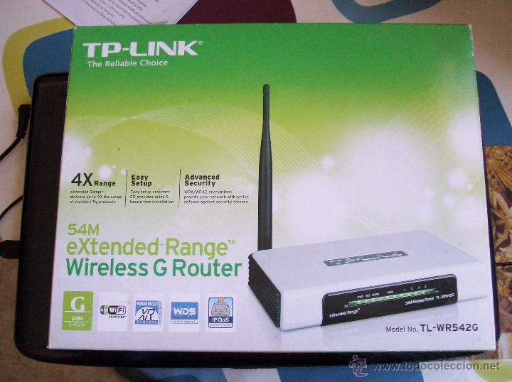 Nuevo: TP LINK EXTENDED RANGE WIRELESS G ROUTER (TL-WR542G) - Foto 4 - 53723740
