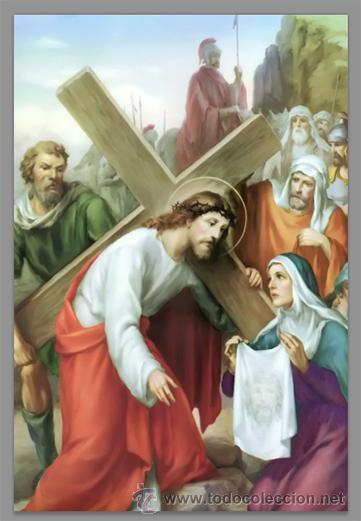 Nuevo: Precioso conjunto de 15 azulejos 20x30 de las estaciones del Via crucis. - Foto 6 - 82325995