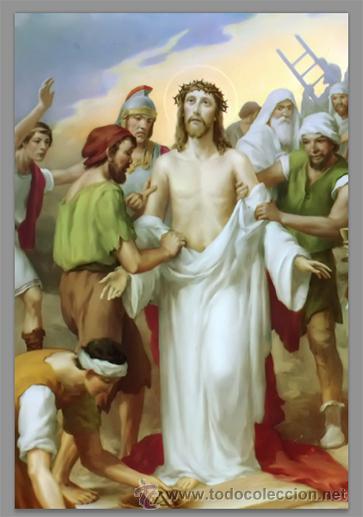 Nuevo: Precioso conjunto de 15 azulejos 20x30 de las estaciones del Via crucis. - Foto 10 - 82325995
